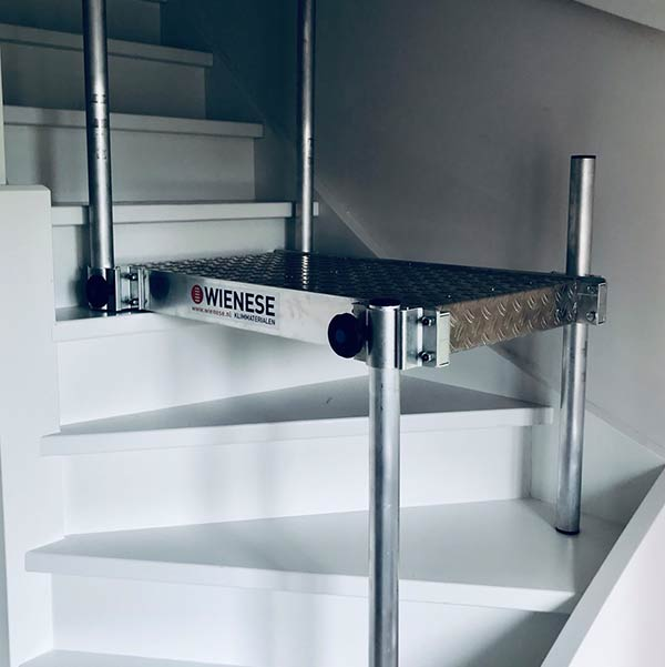 combistep bruikbaar op trap
